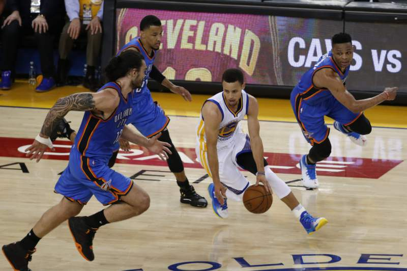 Oklahoma City Thunder at Golden State Warriors