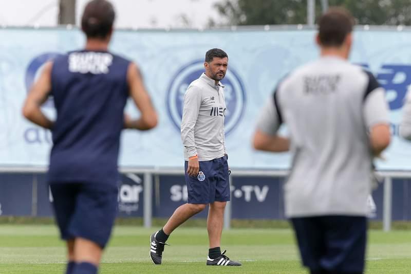 Treino da equipa do FC Porto