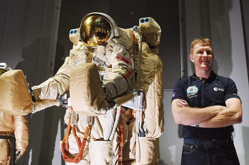 Tim Peake, astronauta britânico