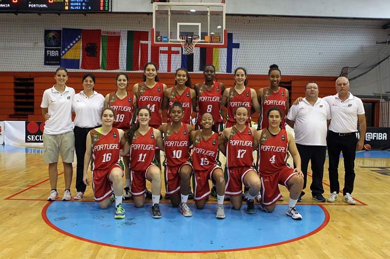 Portugal vence Estónia e vai lutar pelo nono lugar no Europeu feminino de sub-18