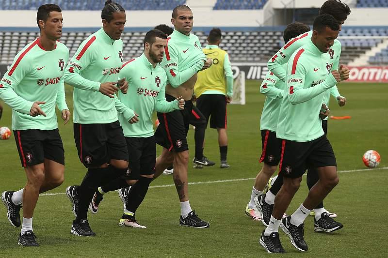 Portugal's training
