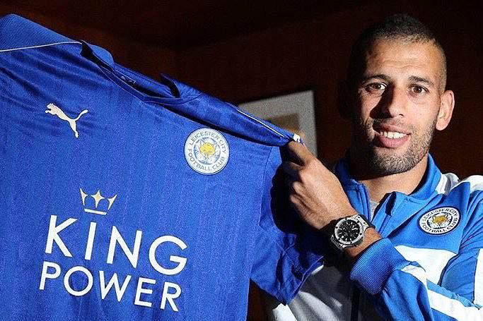 Slimani assina pelo Leicester por 30 milhões de euros