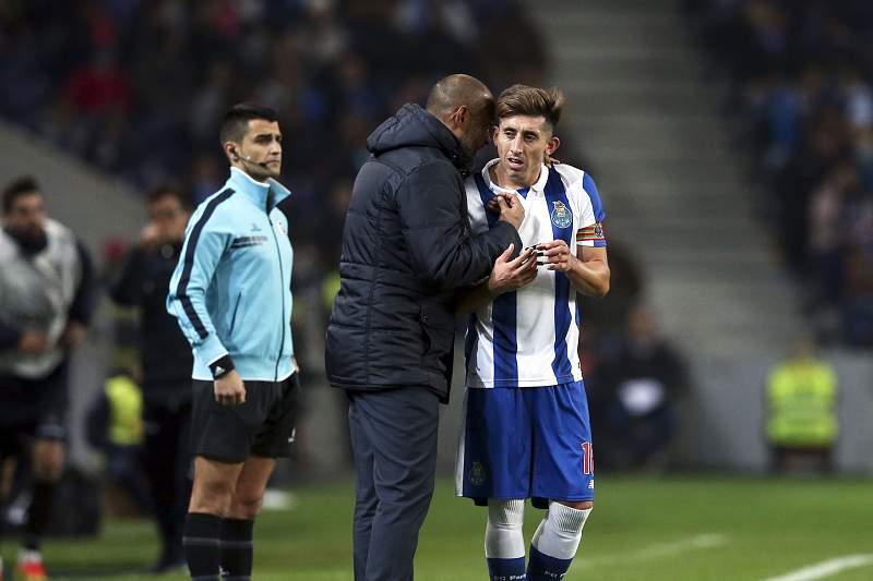 Taça da Liga: Nuno dá indicações a Herrera