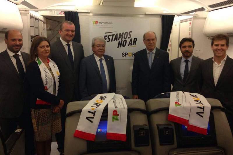 TAP e SportTV anunciam parceria