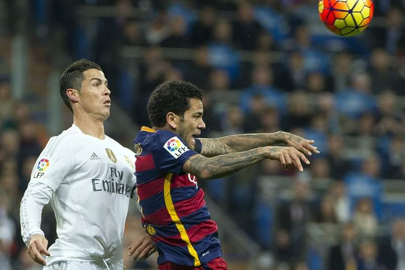 Ronaldo e Dani Alves