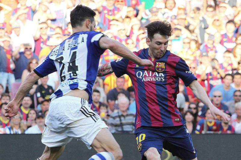messi barcelona real sociedad