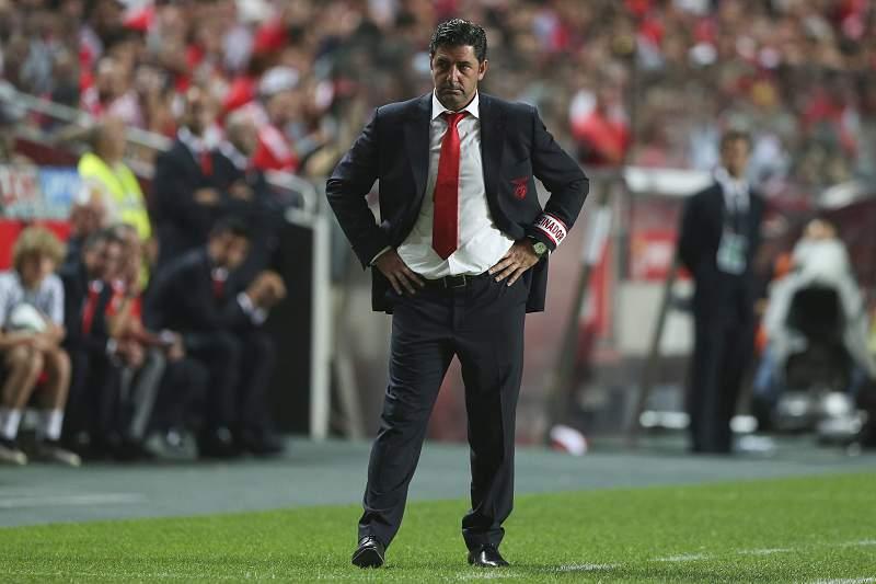 Rui Vitória, treinador do Benfica