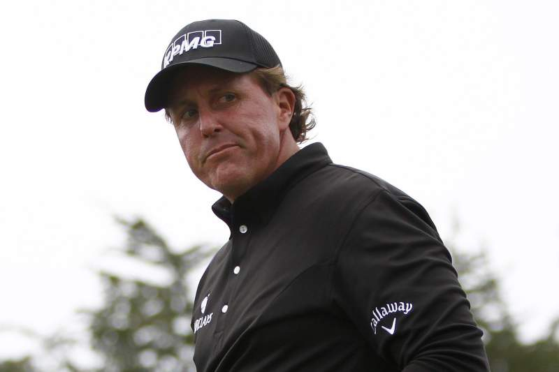 Phill Mickelson, golfista norte-americano