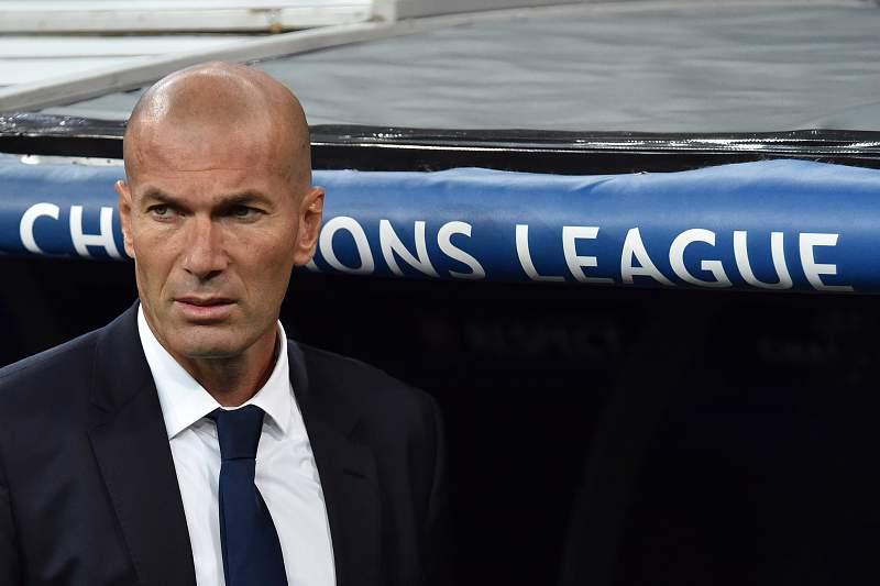 Zinedine Zidane elogiou a exibição do adversário do Real Madrid