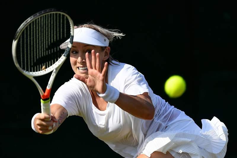 Mattek-Sands lesionou-se com gravidade na terceira ronda do torneio de Wimbledon