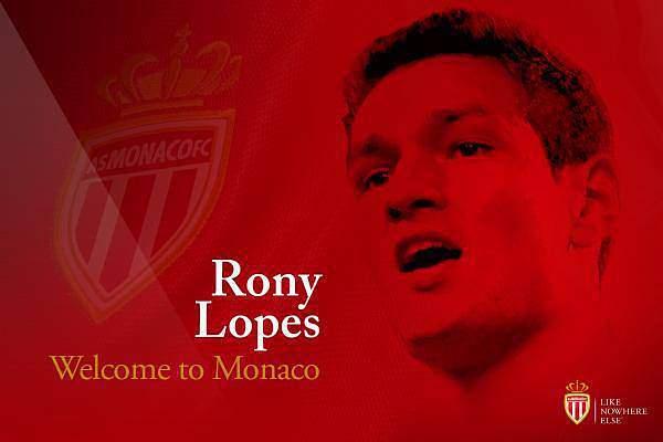 Rony Lopes assina por cinco anos com o Mónaco