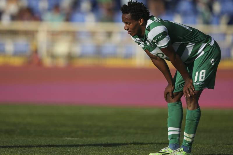 André Carrillo está afastado da equipa do Sporting
