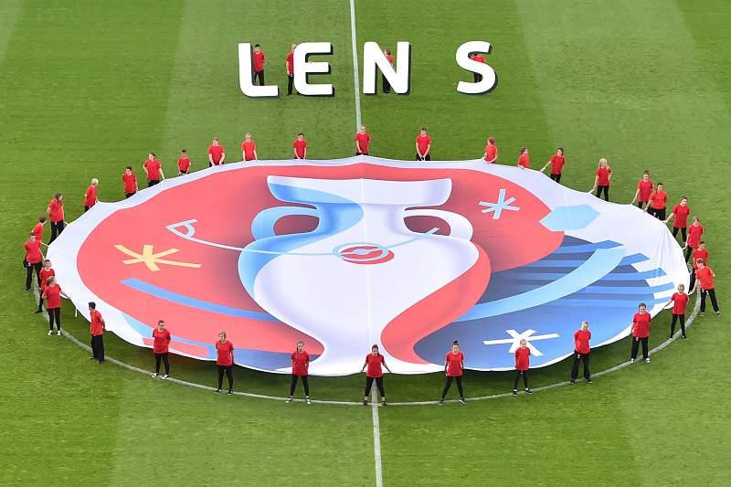 Estádio de Lens durante o Euro2016
