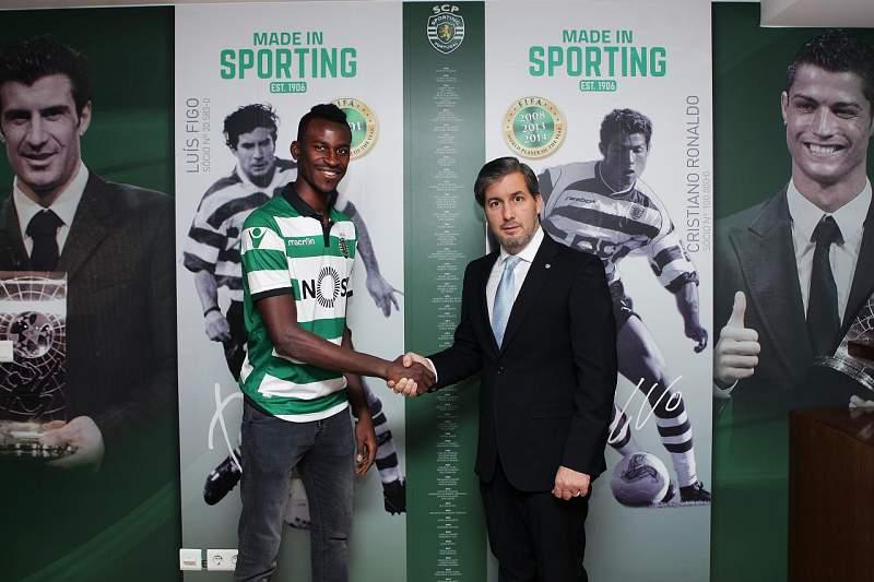 Sporting anuncia contratação de Kouyate aos marroquinos do Kawkab Athletic Club