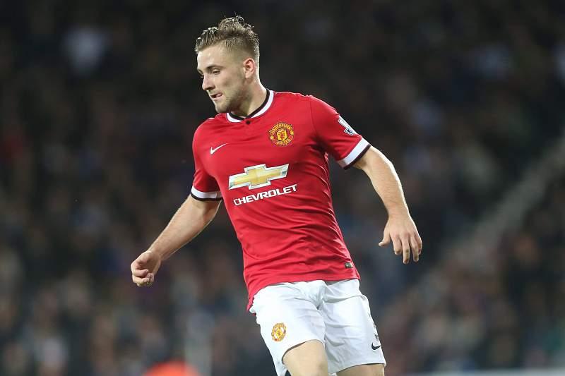 Luke Shaw, jogador do Manchester United