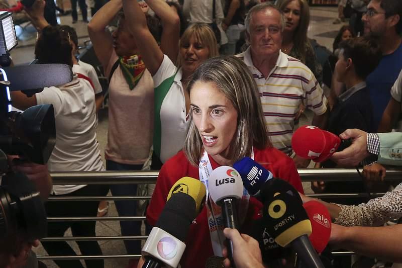 Seleção nacional de atletismo regressa a Portugal depois de conquistar cinco medalhas no Campeonato da Europa de Atletismo, em Amesterdão