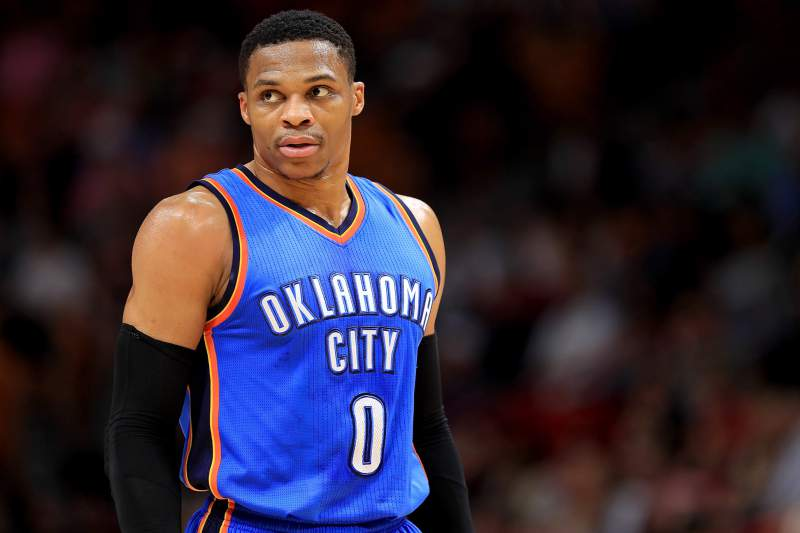 Russel Westbrook Oklahoma City Thunder