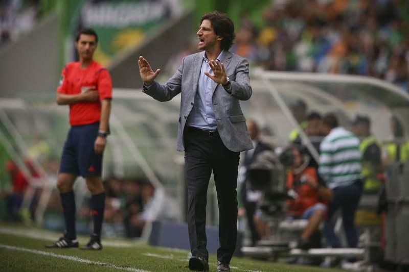 Jorge Simão, treinador do Paços Ferreira