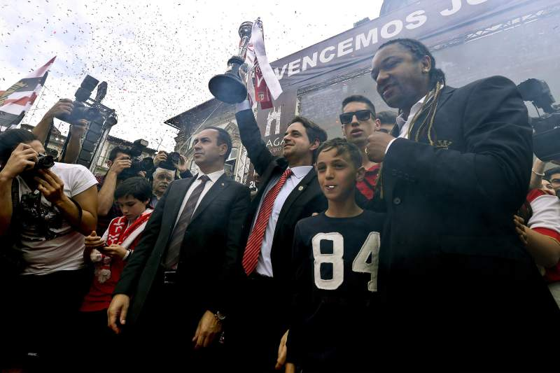 Equipa do Sporting Braga é recebida na Câmara Municipal de Braga