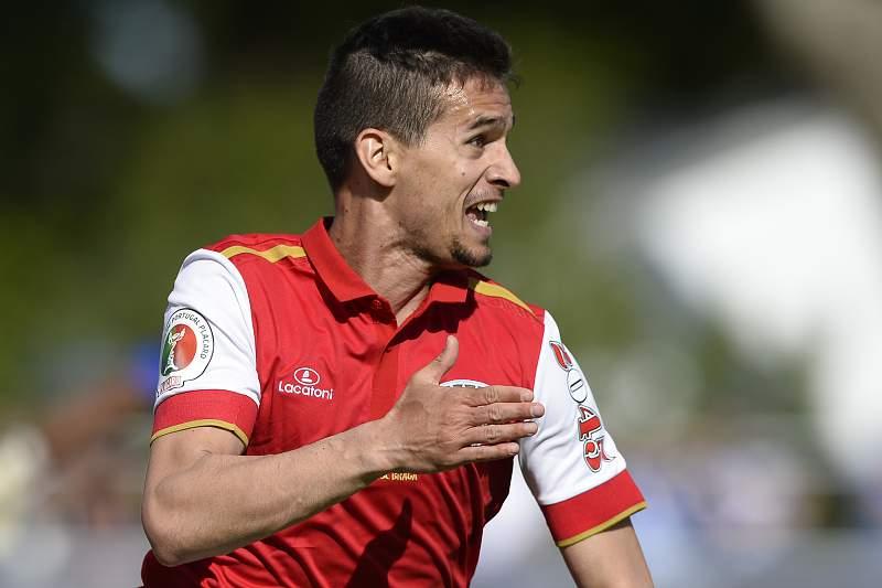 Rui Fonte, avançado do SC Braga