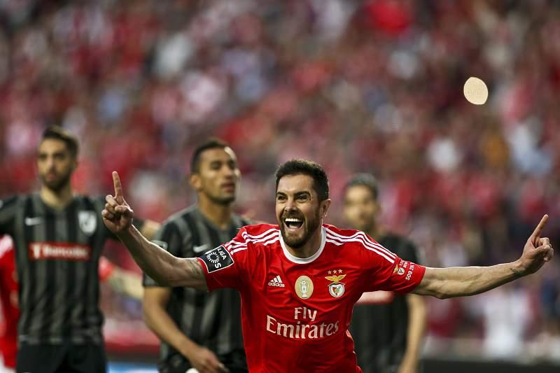 Jardel fez o golo do Benfica