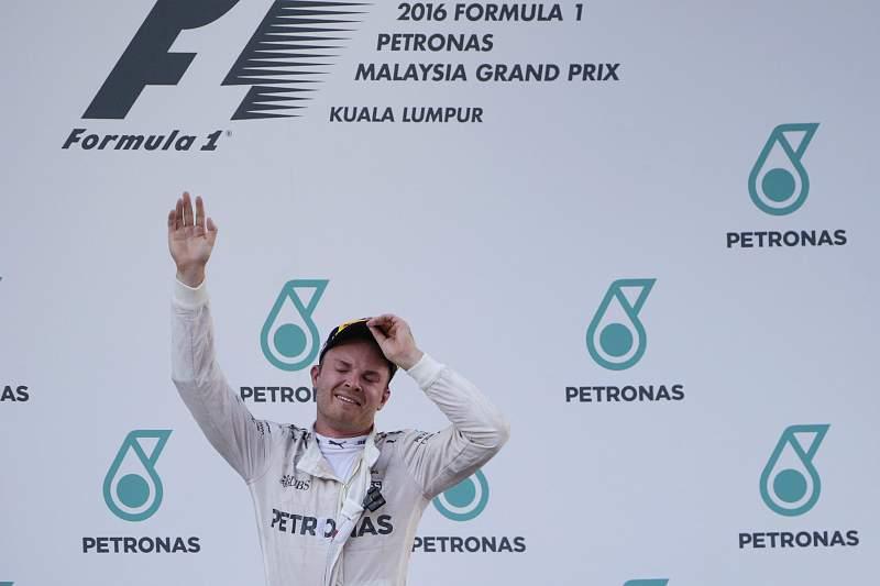Nico Rosberg no Grande Prémio da Malásia em Fórmula 1