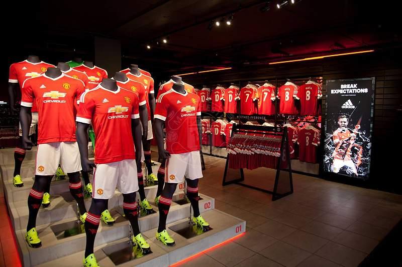 Manchester United camisolas