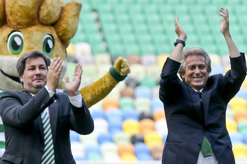 Official presentation of Jorge Jesus as Sporting head coach