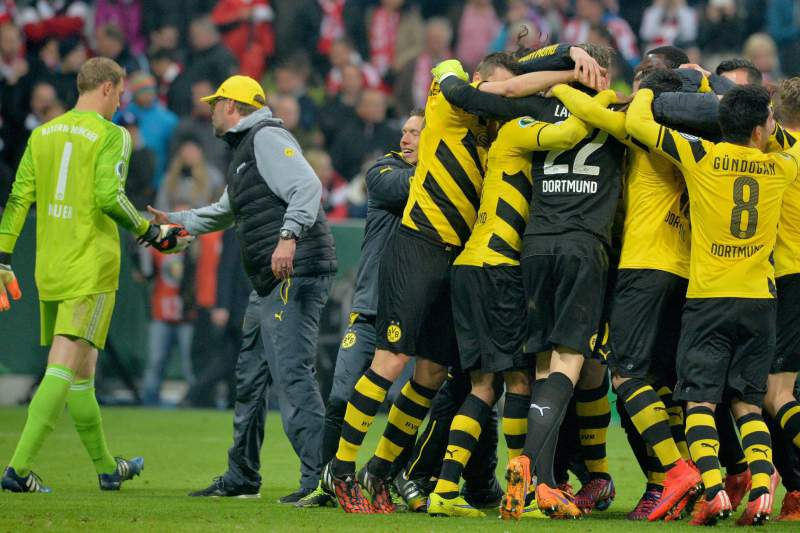FC Bayern Munich vs Borussia Dortmund
