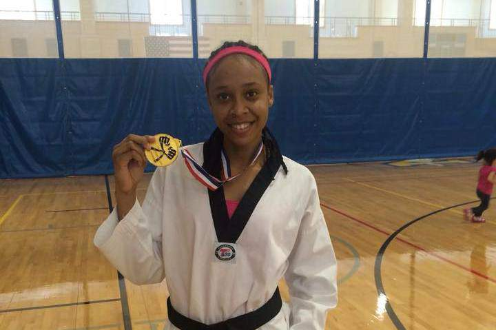 Primeiro estranhou, mas o taekwondo depressa entranhou na vida da cabo-verdiana Maria Andrade