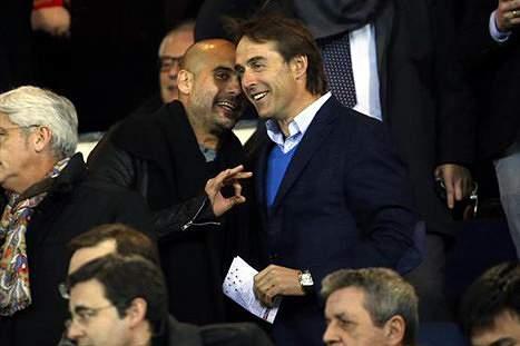 Lopetegui e Guardiola, de amigos a rivais