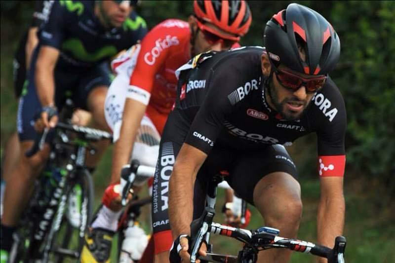 José Mendes em ação na sexta etapa da Volta a França 2015