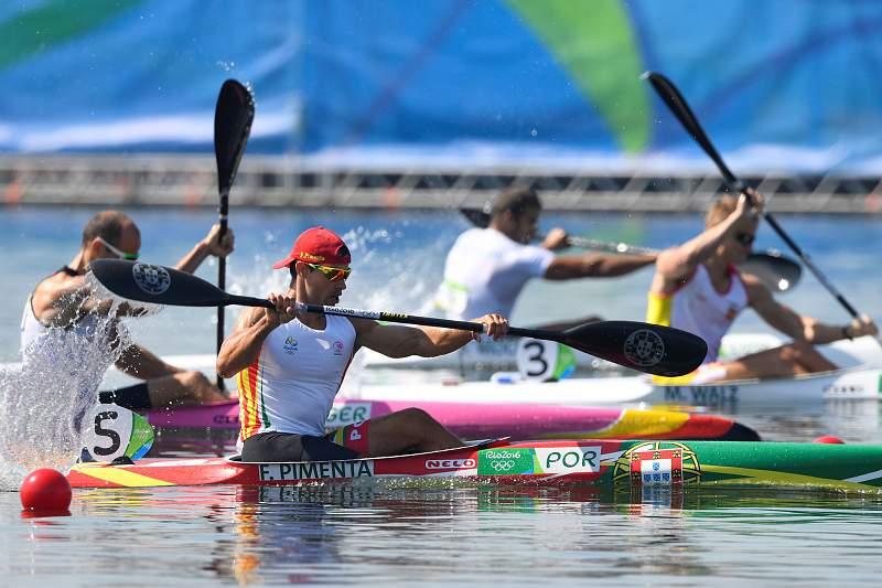 K1: Fernando Pimenta termina em quinto lugar
