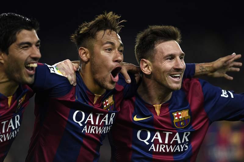 Suárez, Neymar e Messi