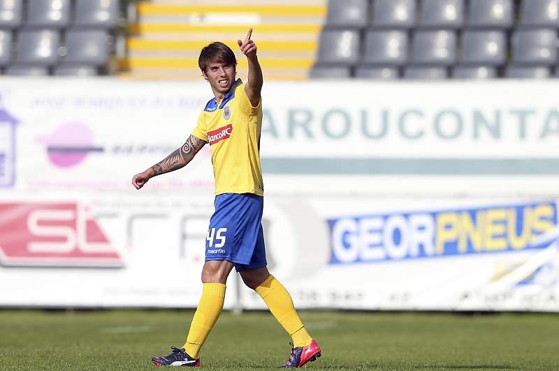 Iuri Medeiros atua no Arouca por empréstimo do Sporting