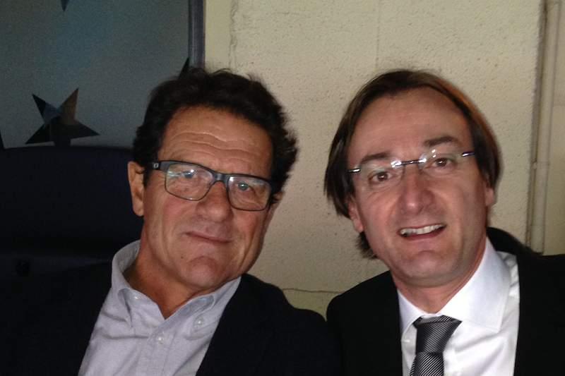 Alexandre Pinto da Costa com Fabio Capello
