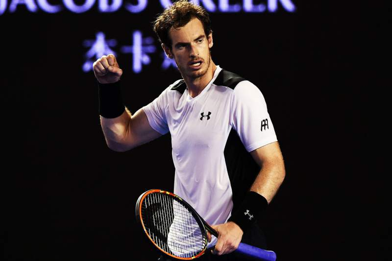 Andy Murray nas meias-finais do Open da Austrália
