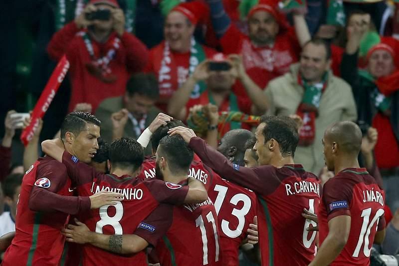 Euro2016: Portugal festeja golo frente a Islândia