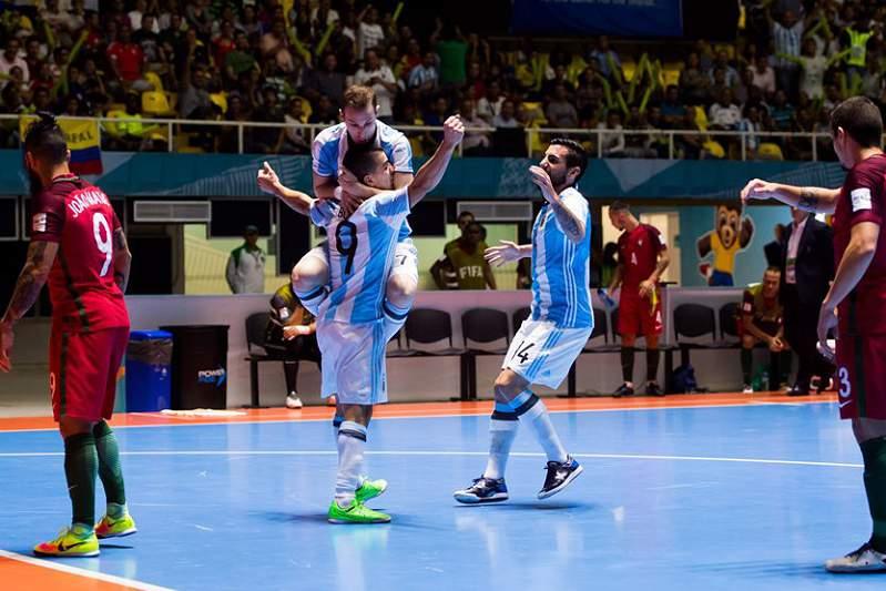Argentina afastou Portugal do sonho da final