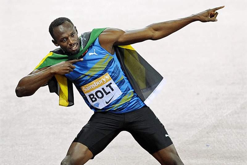 Usain Bolt regressa à competição com vitória nos 100 metros em Londres
