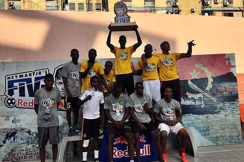 Ilha do Cabo FC representa Angola no torneio Neymar Jr's Five