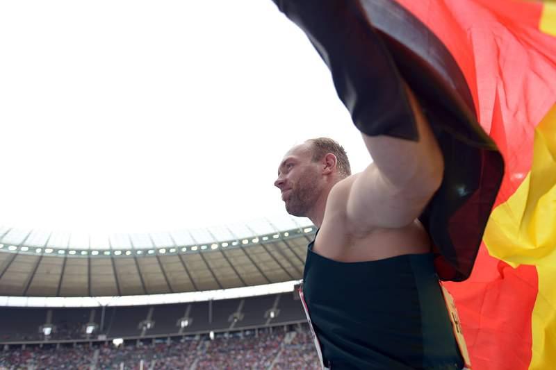Robert Harting, campeão olímpico de lançamento do disco