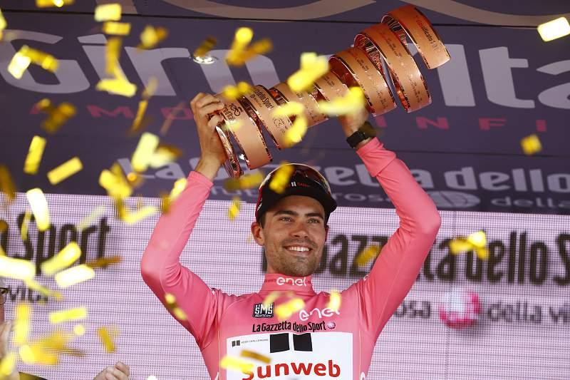 Há campeão no Giro