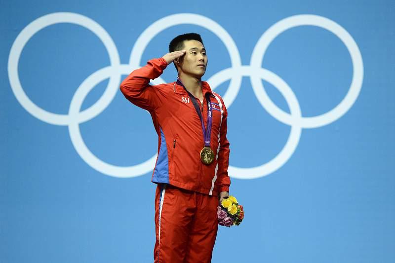 Kim Un Guk conquistou a medalha de ouro nos Jogos Olímpicos de Londres 2012