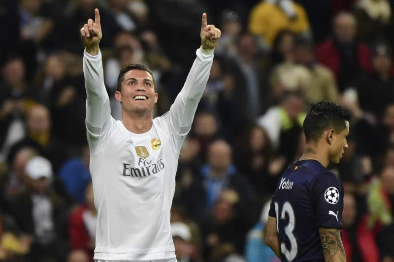 Ronaldo rejubila