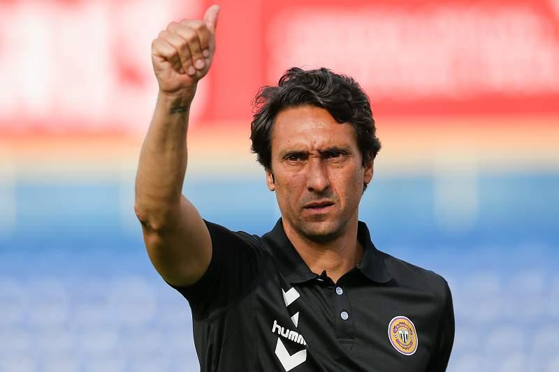 João de Deus, treinador do Nacional