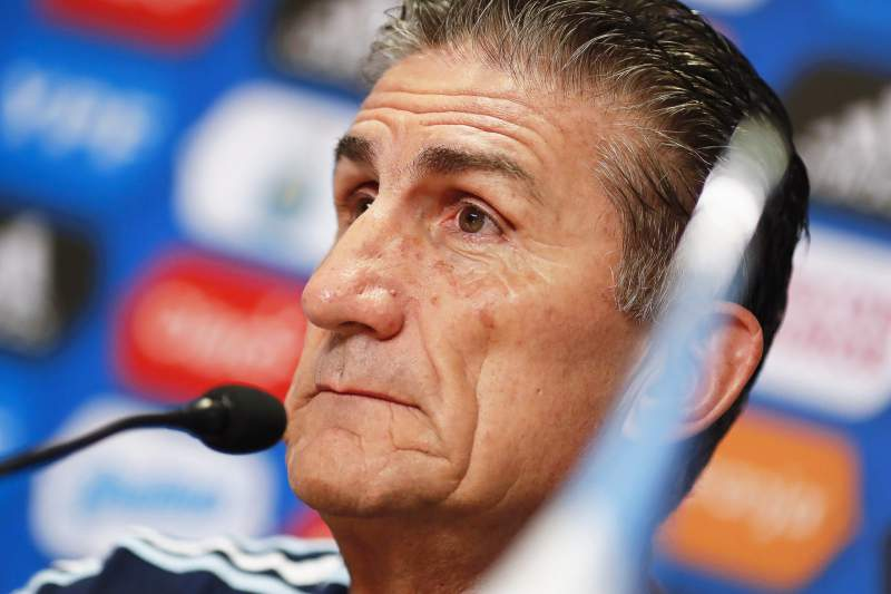 Bauza foi despedido em abril do cargo de selecionador de futebol da Argentina