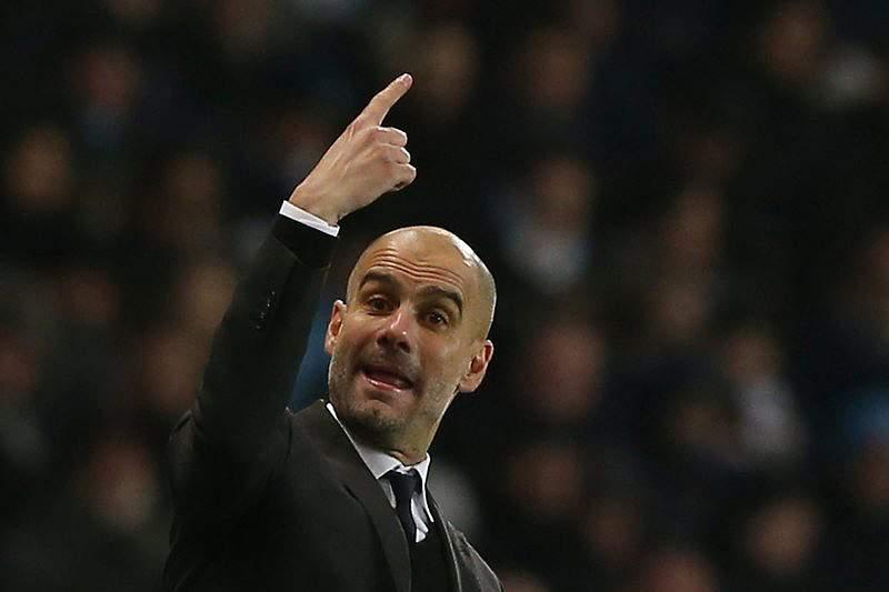 Guardiola quer renovar pelo Manchester City