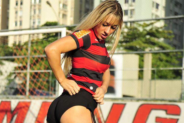 Cris Lopes, a musa do Flamengo