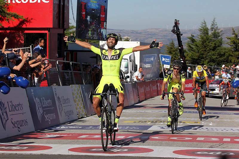 Filipe Cardoso festeja a vitória